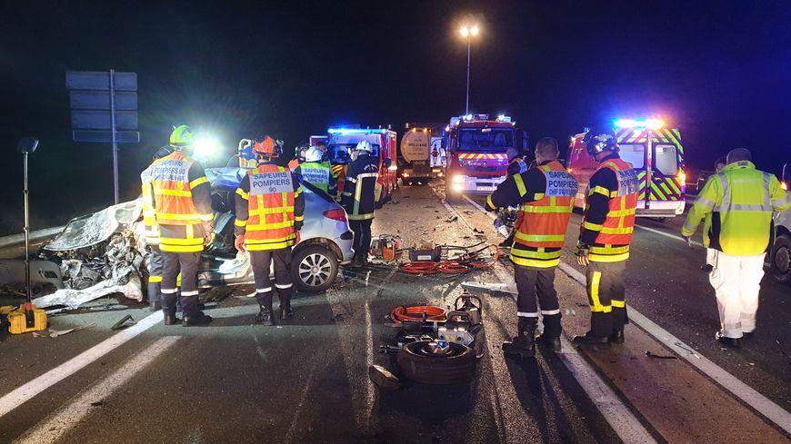 L'accident s'est déroulé vers 6h30 ce mardi matin