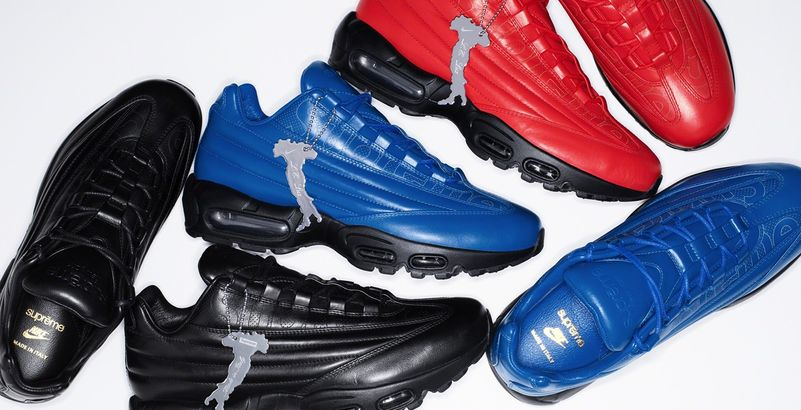 Supreme Et Nike Collaborent Pour Une Air Max 95