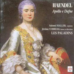Apollo e Dafne / Overature (Concerto Grosso Op. 3 No. 1: Allegro) - SALOME HALLER
