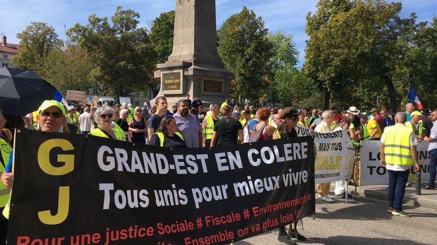 """Une manifestation régionale sur le thème des """"violences d'Etat"""""""