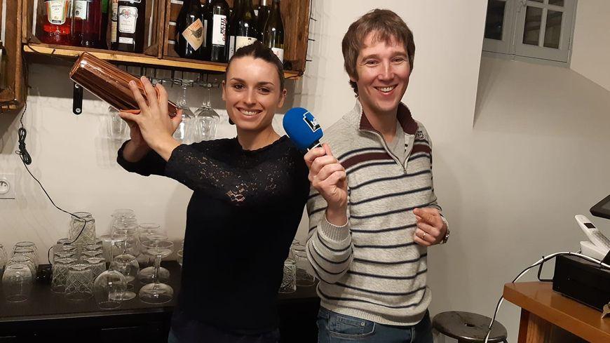 Mathilde Boissinot a créé le bar à cocktail La Nef à Laval.