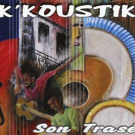 """Pochette de l'album """"Son trasé"""" par K Koustik"""