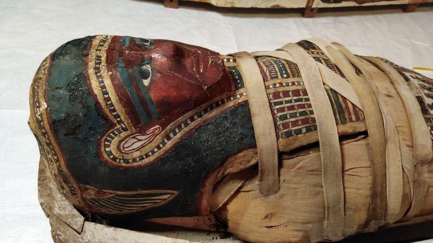 La momie d'Antinoé est l'un des trésors du musée de Guéret