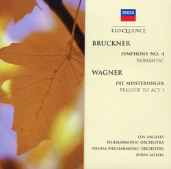Symphonie n°4 en Mi bémol Maj WAB 104 (Romantique) : Scherzo : Bewegt - Trio : Nicht zu schnell keinesfalls schleppend