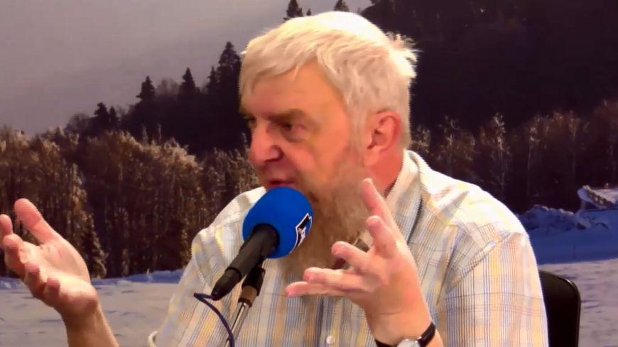 Dominique Huck, professeur émérite de dialectologie à l'Université de Strasbourg
