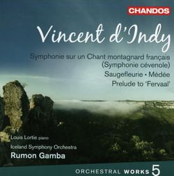 Symphonie sur un chant montagnard français en Sol Maj op 25 : Animé - pour piano et orchestre - LOUIS LORTIE