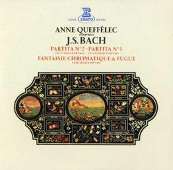 Partita n°5 en Sol Maj BWV 829 : 7. Gigue - pour piano - ANNE QUEFFELEC