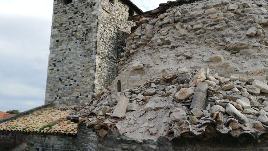 L'eglise de Melas au Teil