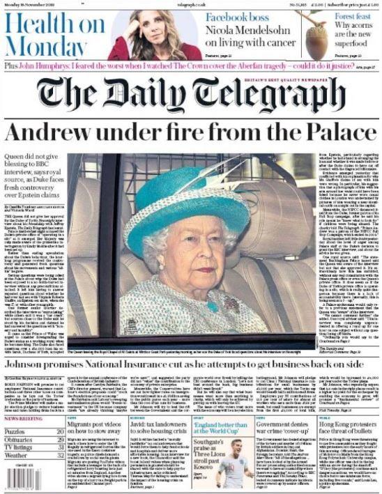 """""""Andrew sous les critiques de Buckingham"""""""