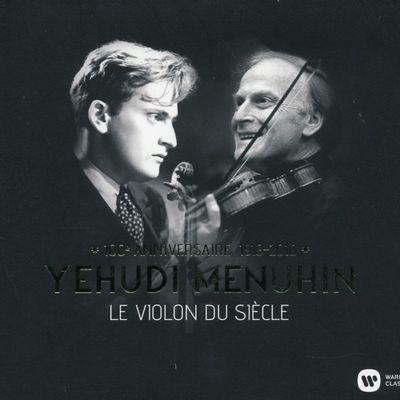 YEHUDI MENUHIN  GEORGE MALCOLM  ROBERT DONINGTON sur France Musique