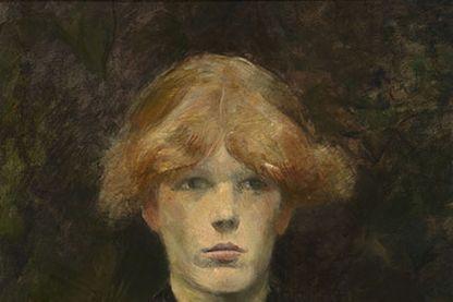 Henri de Toulouse-Lautrec. Carmen Gaudin vers 1884 huile sur toile 52,9 x 40,8 cm Williamstown, Sterling and Francine Clark Art Institute