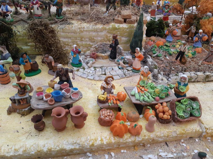 Le marché du village provençal