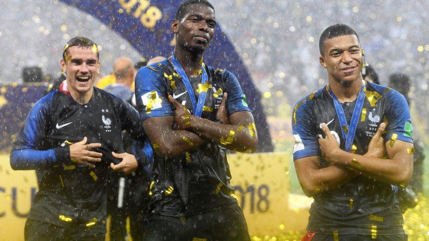 Après avoir été côte à côte sur le podium de la coupe du monde 2018, Pogba, Griezman et Mbappé pourraient être réunis à Tours le 29 décembre
