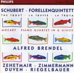 Quintette en La Maj op 114 D 667 la truite : Allegro giusto - ALFRED BRENDEL