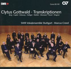 Wesendonck lieder : traume / cycle de 5 lieder pour soprano et piano / arrangement pour choeur mixte a cappella