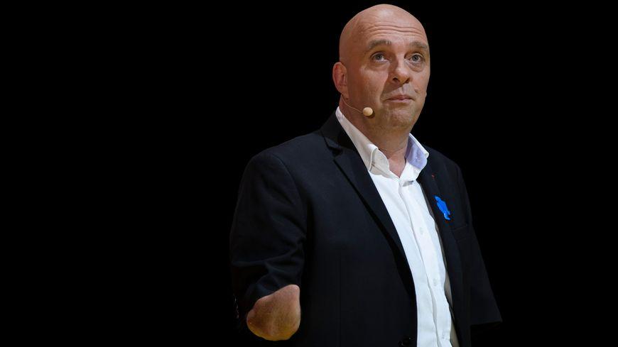 Philippe Croizon, à la fois sportif et acteur !