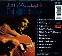 It's funny - JOHN MC LAUGHLIN