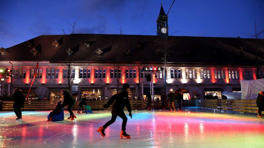 cette année Montbéliard est classé 5ème plus beau marché de Noël d'Europe, et 1er marché de Noël français par les internautes (photo d'illustration)