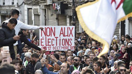La Présidentielle en Algérie débute, sur fond de forte contestation