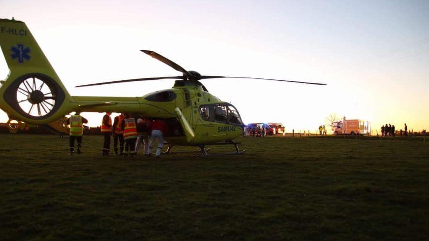 D'importants moyens déployés pour secourir les quatre mineurs blessés