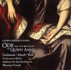 Ode for the birthday of Queen Anne HWV 74 : 1. Eternal source of light divine (Air de contre-ténor) - ANDREAS SCHOLL