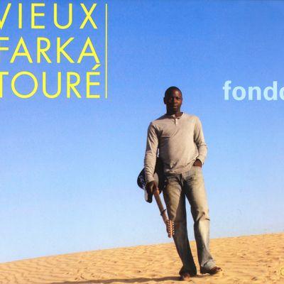 """Pochette de l'album """"Fondo"""" par Vieux Farka Toure"""