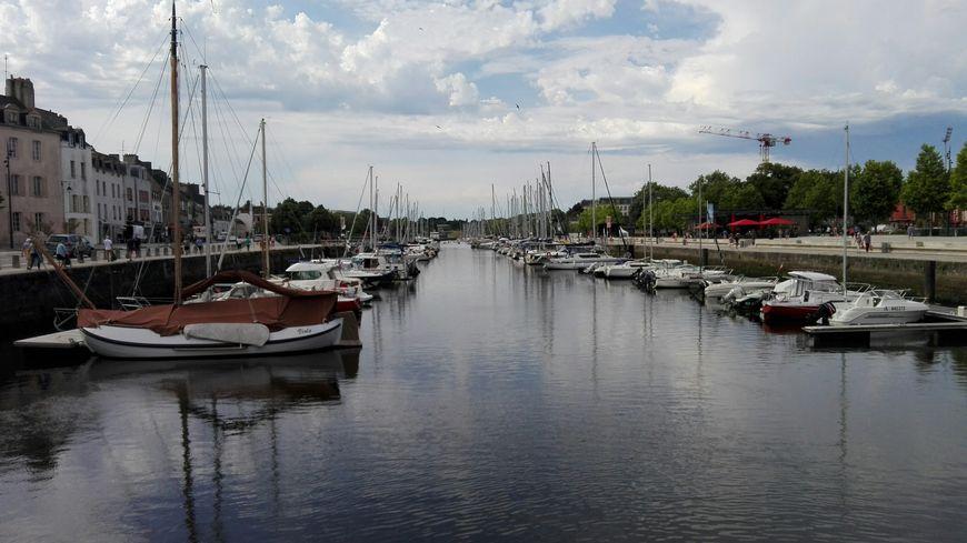 Le port de Vannes n'a pas connu d'opérations de dragage depuis 15 ans