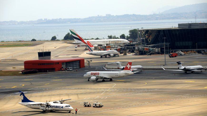 Photo d'illustration de l'aéroport de Nice