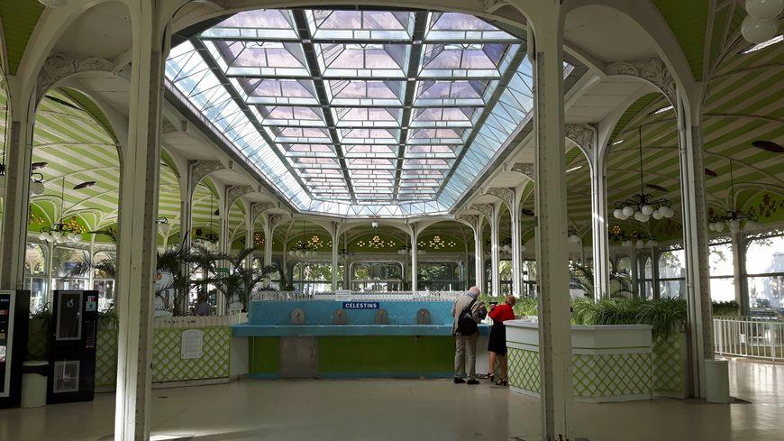 Le hall des sources à Vichy