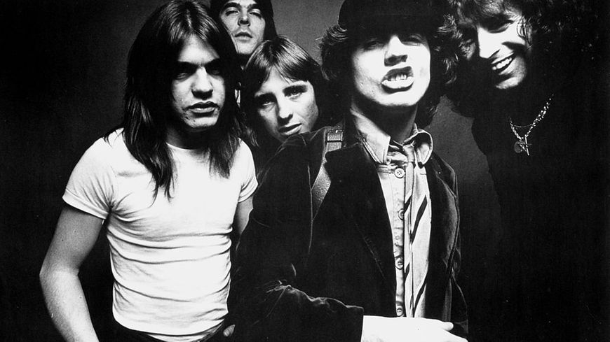 Le groupe ACDC.
