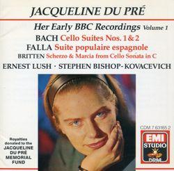 Suite pour violoncelle n°2 en ré min BWV 1008 : 1. Prélude - JACQUELINE DU PRE