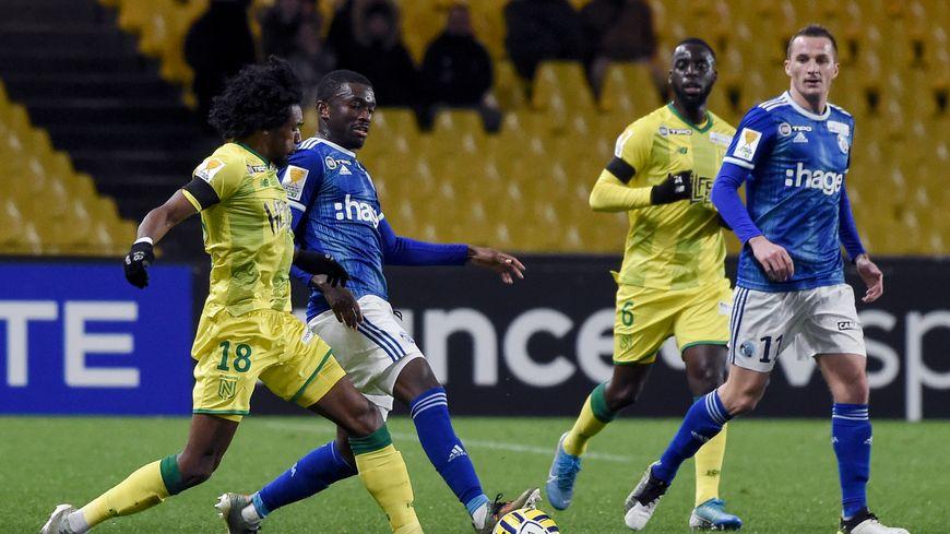Les Canaris sont éliminés de la coupe de la Ligue (0-1), ce mercredi soir, au terme d'une prestation décevante.