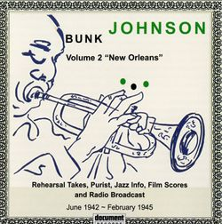 Dusty rag - BUNK JOHNSON