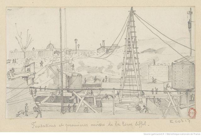 Fondations de la Tour Eiffel