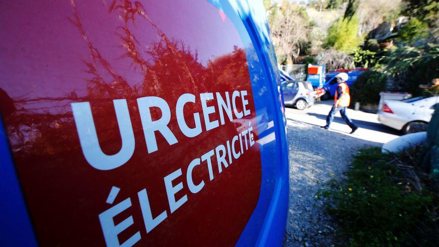 Une équipe d'Enedis mobilisée après la tempête Fabien (Photo d'illustration)