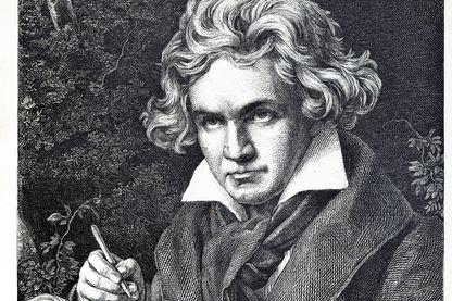 Gravure de Ludwig van Beethoven