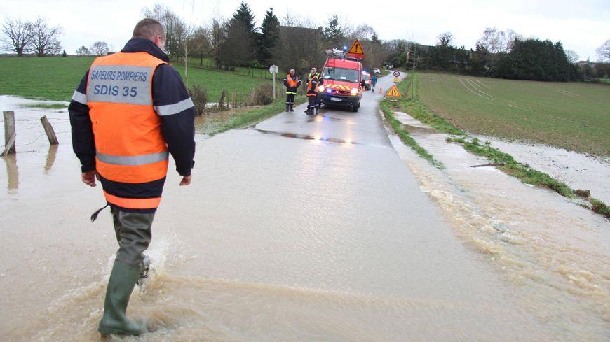 Tous les cours d'eau en Ille-et-Vilaine sont en vigilance jaune crue et inondation