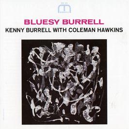 "Pochette de l'album ""Bluesy Burrell"" par Kenny Burrell"