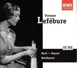 Choral BWV 639 : Ich rufe zu Dir - YVONNE LEFEBURE