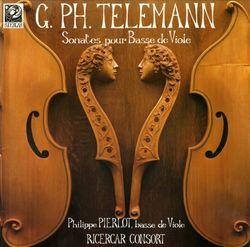 Sonate en mi min TWV 41:e5 - pour basse de viole et basse continue - PHILIPPE PIERLOT