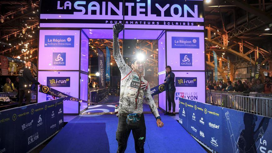 Cédric Fleureton, le vainqueur de la SaintéLyon 2019