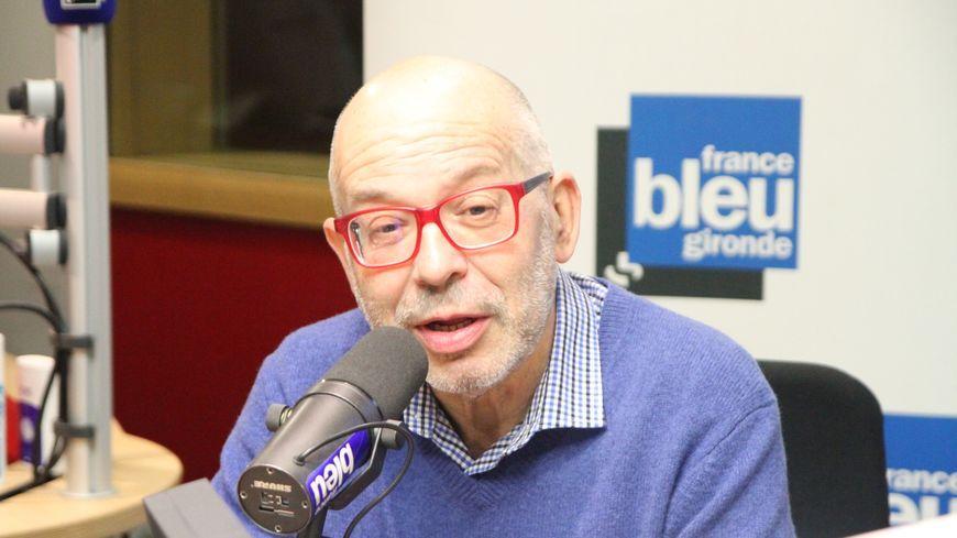Jean-Pierre Gauffre pour sa dernière à France Bleu Gironde