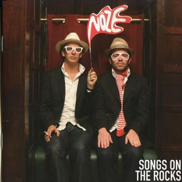 """Pochette de l'album """"Songs on the rocks"""" par Noze"""