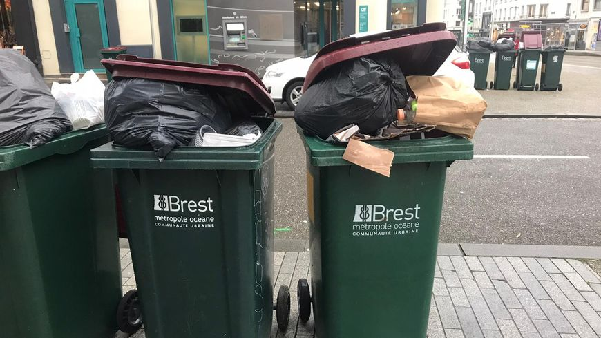 La collecte des déchets devrait reprendre dès ce mercredi dans Brest Métropole selon les représentants des éboueurs