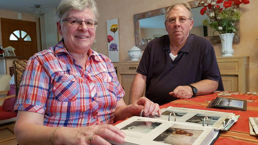 Philippe et Colette Wohmann, de Port-des-Barques, ont gardé quelques photos de la Tempête Martin.