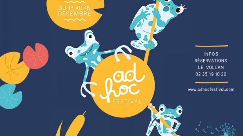 Affiche Ad Hoc festival 3
