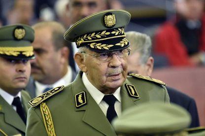 Le général Gaïd Salah