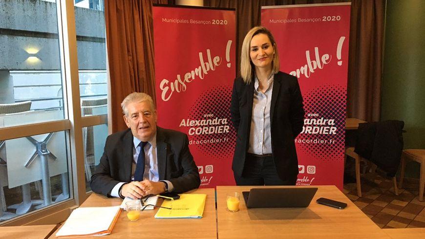 Alexandra Cordier est officiellement candidate à la mairie de Besançon.