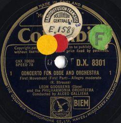 3ème mouvement : conclusion (Cadenza et Vivace) - LEON GOOSSENS