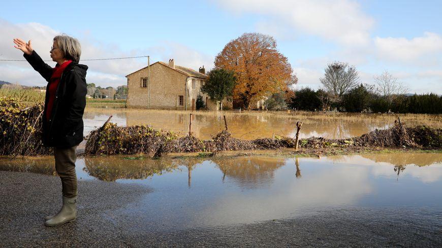 Inondations à Pertuis